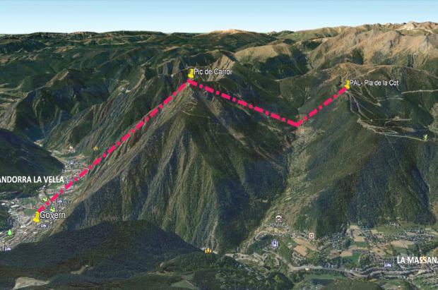 Campaña contra el teleférico del pico de Carroi en Andorra
