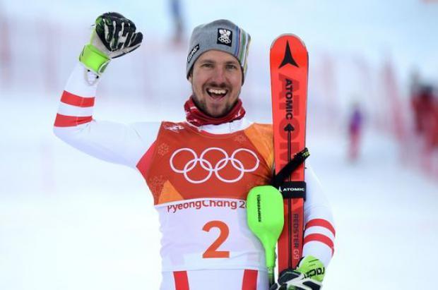 Marcel Hirscher consigue el oro en la combinada y agranda su leyenda