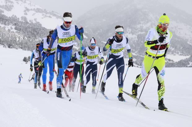 Más de 900 participantes en la 40ª edición de la Marxa Beret marcada por el frío y la nevada