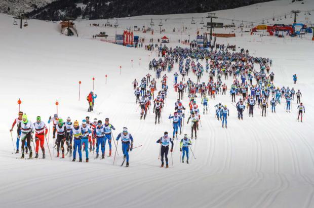 Abiertas las inscripciones para una nueva edición de la Marxa Beret, la gran fiesta del esquí nórdico