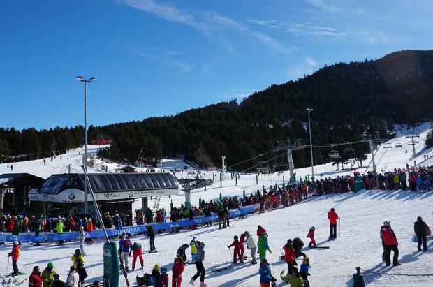 Masella celebró los 100 días de apertura con un fin de semana al 100% de afluencia