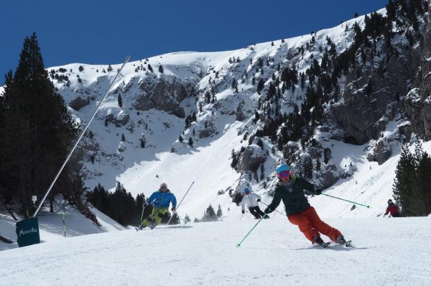 Masella llega a la Semana Santa con hasta 250 cm de nieve y todas las pistas abiertas