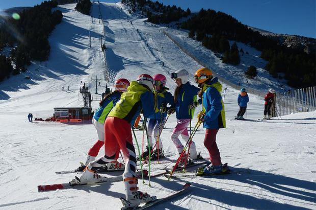 Masella cierra su primer fin de semana con más  de 4.800 esquiadores