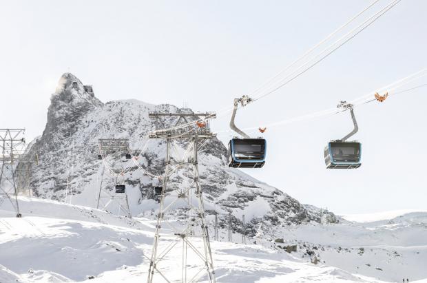 La conexión entre Zermatt y Monterosa para crear un área esquiable de 530 km más cerca