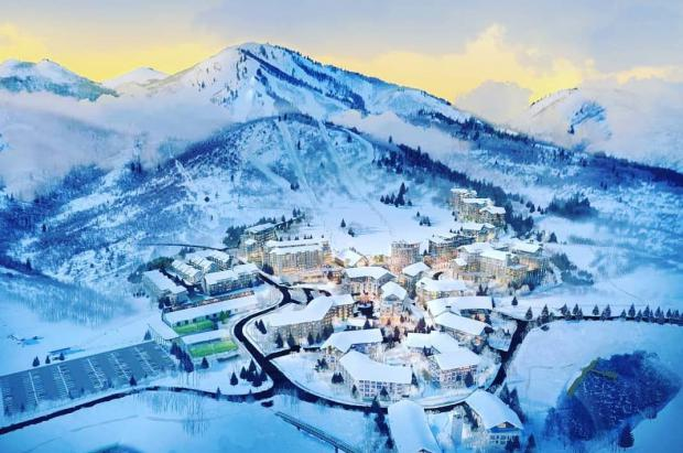 250 millones de dólares para empezar la nueva estación de esquí de Utah: Mayflower Mountain