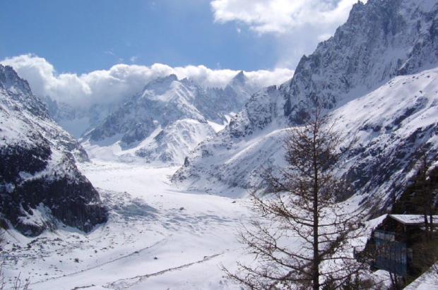 El fuera pista de la Vallée Blanche se adaptará a la pérdida de glaciar con un nuevo telecabina