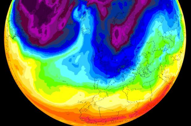 Previsión Meteo Fin de Año a Reyes: borrasca en el Oeste hasta Reyes, cuando llegarían las nevadas