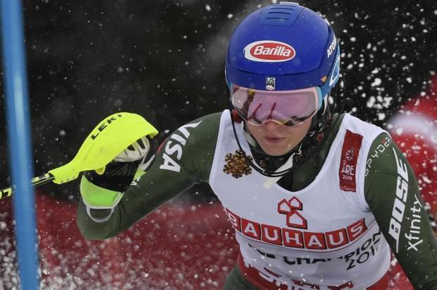 ¡Gesta de Mikaela Shiffrin! gana su cuarto campeonato del mundo consecutivo en slalom
