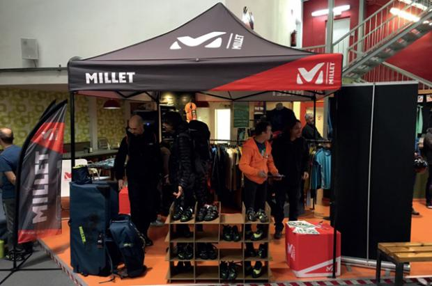 Millet Rise-Up Tour en Barcelona