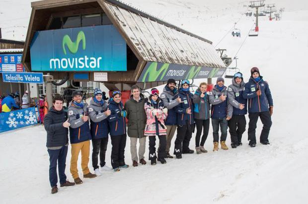 Movistar se convierte en el patrocinador principal de Sierra Nevada 2017