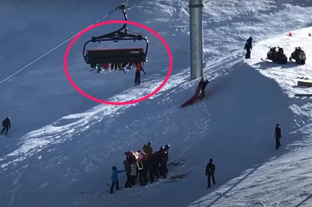 Un niño queda colgando de un telesilla en Mt. Hutt y montan un rescate exprés para salvarlo