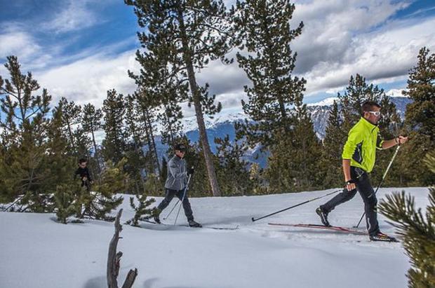 Arranca la temporada de esquí de fondo en Naturlandia