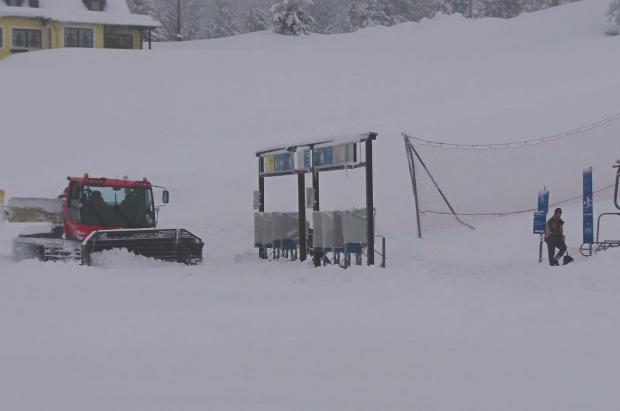 La estación austriaca de Hochkar reabre pistas después de recibir hasta 130 cm de nieve