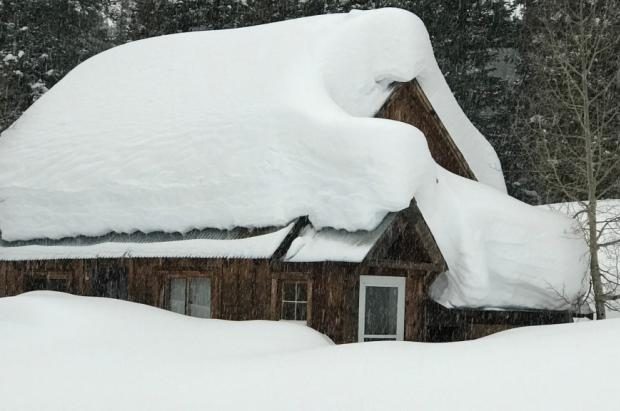 La capa de nieve actual de Colorado está un 761% por encima del promedio