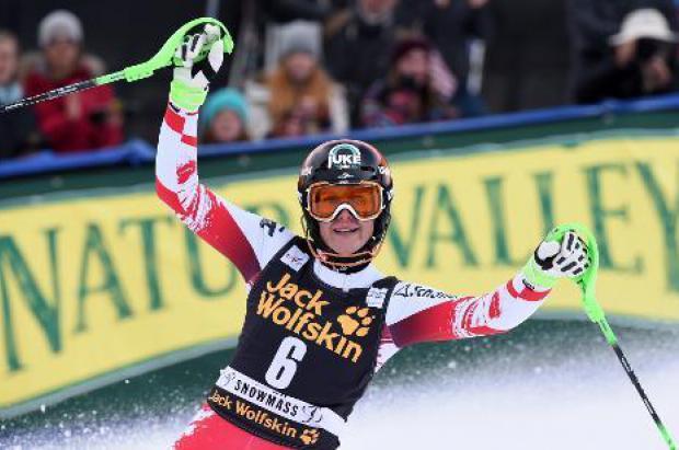 Nicole Hosp gana el slalom de Aspen, su primera victoria desde 2008