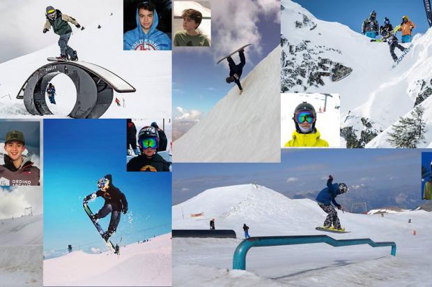 Primera quedada de Jóvenes promesas del snowboard Nacional en Boí Taüll