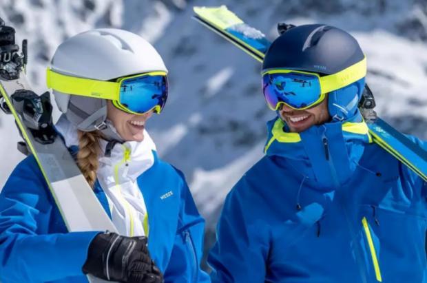 Los cascos Wed'ze seguidos de los POC son los más utilizados en La Molina y Masella