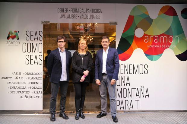 Aramón presenta sus novedades en Madrid a punto de inaugurar la Temporada 2015/16