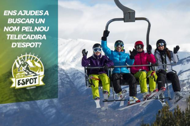 Espot organiza un concurso para elegir el nombre del nuevo telesilla