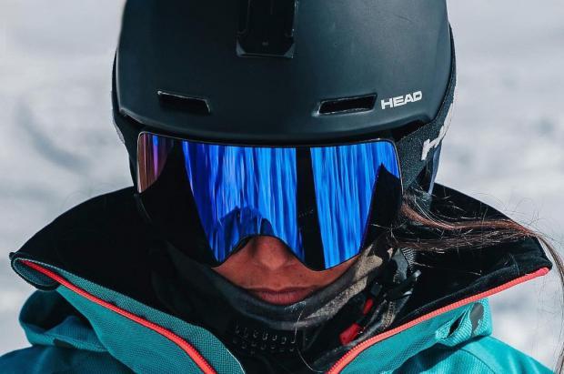 Núria Castán ambiciosa en la tercera prueba del Freeride World tour en Fieberbrunn, Austria
