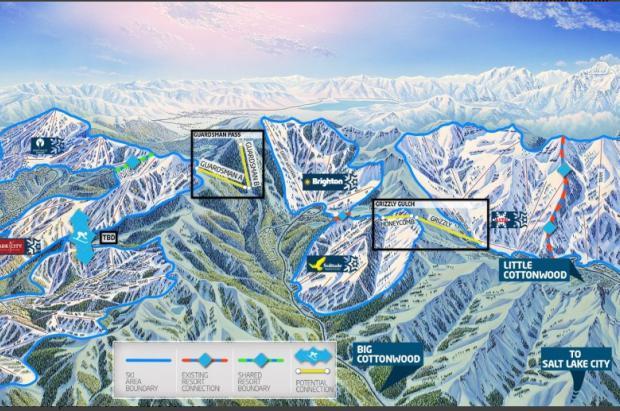 One Wasatch, un mega-dominio esquiable en Estados Unidos
