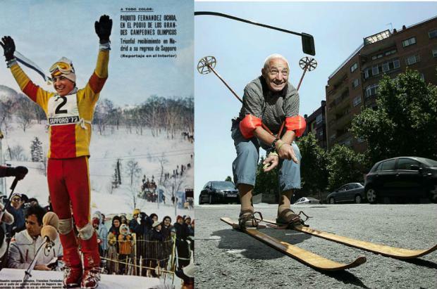 La primera y única medalla de oro olímpica de esquí cumple 45 años: Paquito Fernández-Ochoa