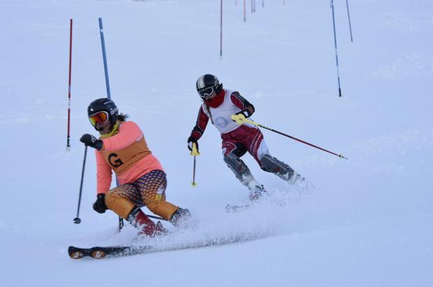 Gran competitividad en el tercer día de la Copa del Mundo IPC de esquí alpino de La Molina