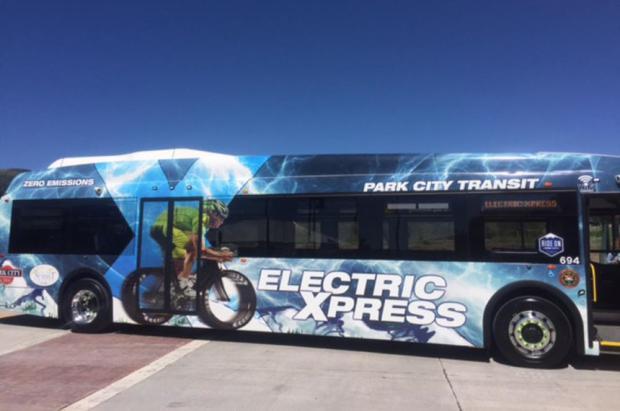 Park City se apunta a las emisiones cero y cambia sus buses diésel por 6 vehículos eléctricos