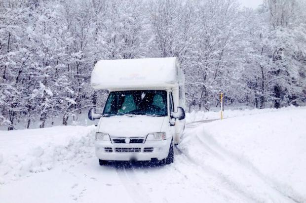 Las estaciones de esquí apuestan por las autocaravanas con parkings a pie de pistas