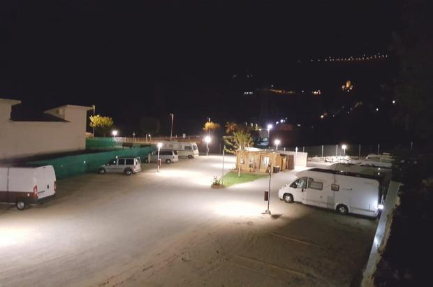 La Val d'Aran estrena un nuevo aparcamiento de autocaravanas