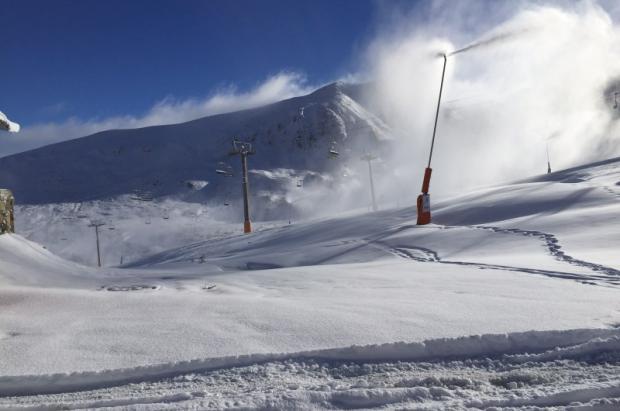 Las últimas nevadas y las del próximo miércoles anuncian una apertura inminente de las estaciones