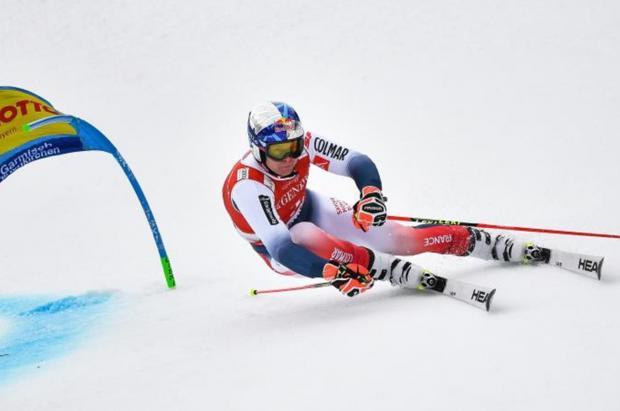 Alexis Pinturault no vacila, gana el gigante de Garmisch y vuelve a soñar con el Globo de Cristal