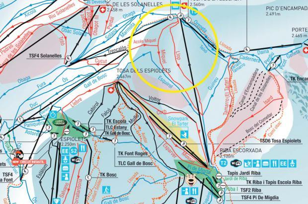 Accidente grave de un joven esquiador en Andorra