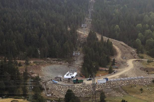 Así es el nuevo sector Peretol con acceso a pistas de Grandvalira. Fotos y nuevo mapa 2020