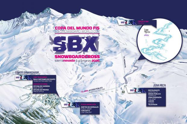 Ya están a la venta las entradas para ver la Copa del Mundo de Snowboard Cross de Sierra Nevada