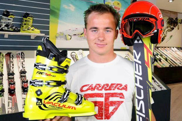 El esquiador del Equipo Nacional de la RFEDI, Pol Carreras ficha por Fischer