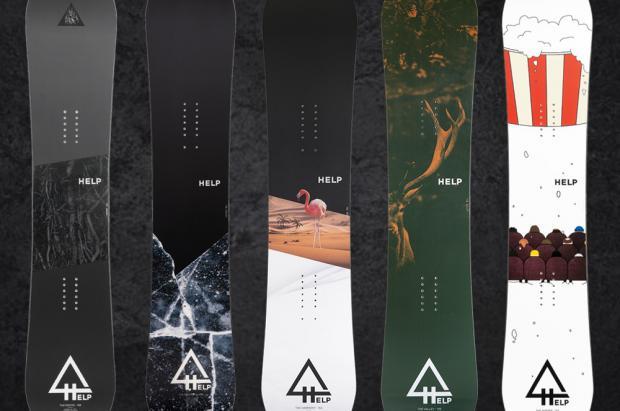 La marca española Help Snowboards lanza nueva colección a pesar del covid