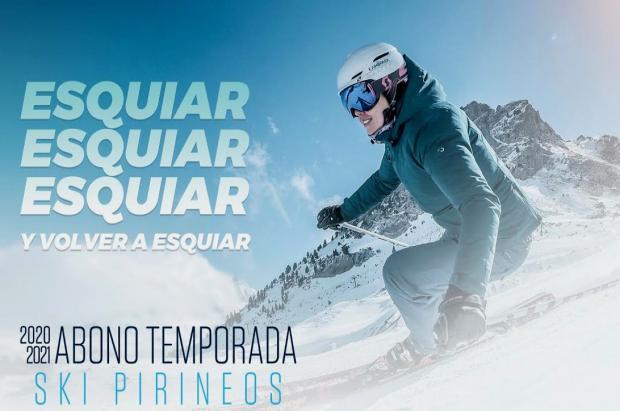 El Forfait Ski Pirineos a la venta el 29 de octubre con garantía covid y descuento repetidores