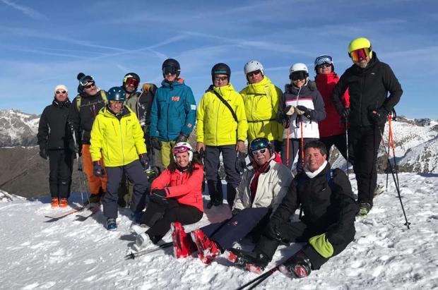 Los periodistas del mundo de la nieve visitan Boí Taüll