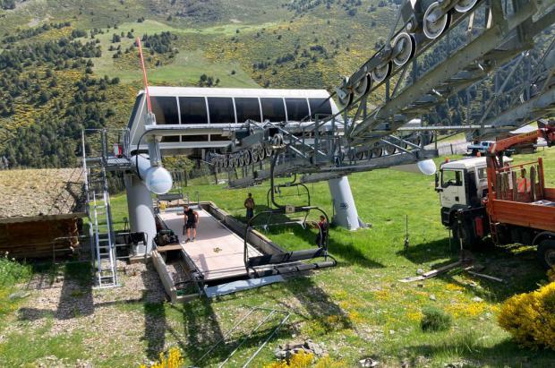 Puigmal 2900 abrirá en diciembre con esquí alpino y la mitad de pistas y remontes