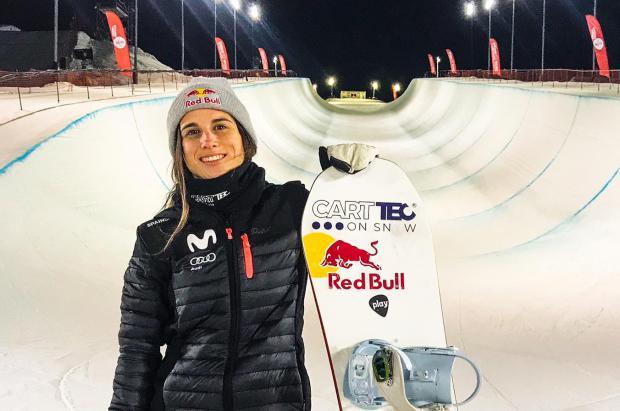 Bronce para Queralt Castellet en el circuito de la Copa del Mundo FIS Snowboard 2020
