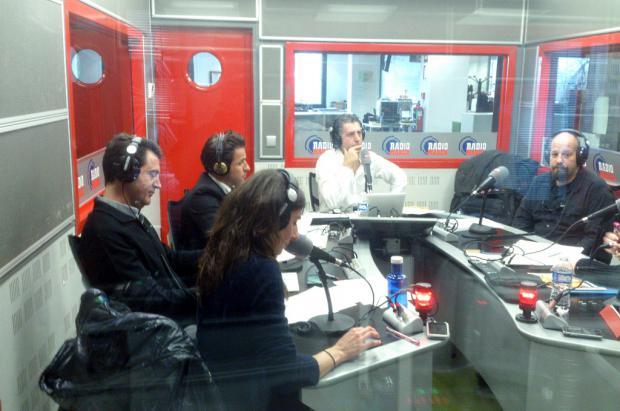 Grabación del programa Paralelo 20 en Radio Marca con Lugares de Nieve