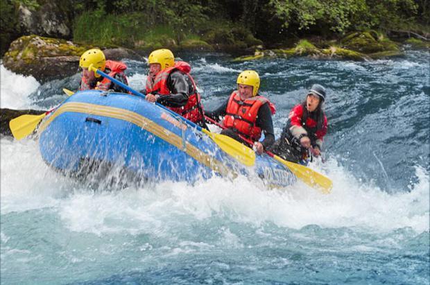 La actividad de rafting en Sant Julià (Andorra) podría ser una realidad en marzo