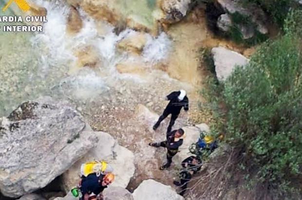 Un barranquista muere ahogado en la Sierra de Guara en el Pirineo oscense