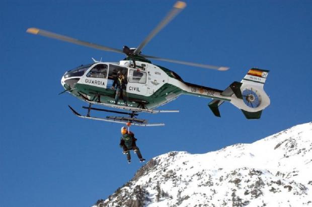 Crecen más de un 30% los accidentes de montaña en Huesca durante este invierno