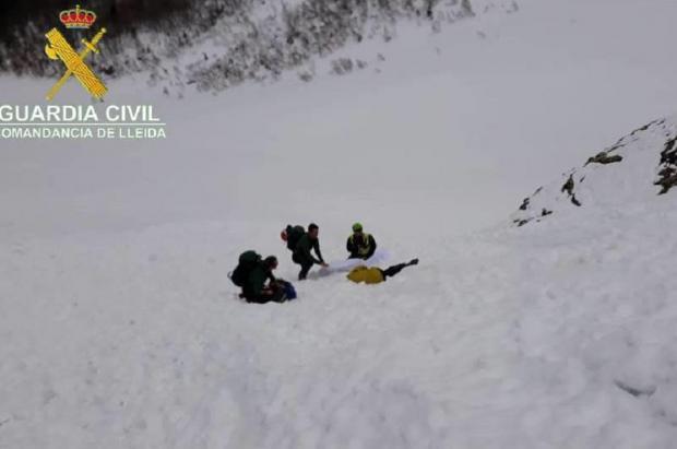 Rescatado el cuerpo de un montañero francés de 59 años desaparecido en la Val d'Aran