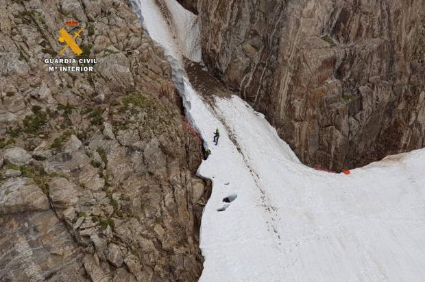 Los rescates en la montaña aumentaron un 17,5% en Aragón durante el 2018