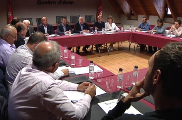 Los alcaldes de Aran apoyan la candidatura Barcelona-Pirineus para unos Juegos Olímpicos
