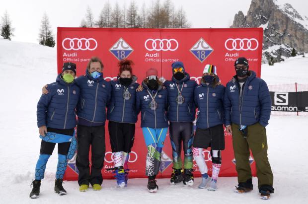 Los esquiadores masters se medirán en los Campeonatos de España de esquí alpino de su categoría en Sierra Nevada