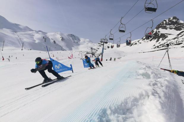 La Copa de España Movistar de Snowboardcross y Skicross dobla licencias en cuatro años